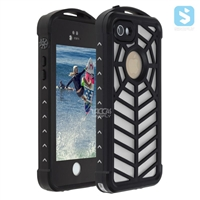 Spidery Pattern Waterproof Case for iPhone SE/ 5/ 5S